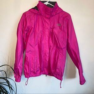 North Face Rain Jacket Pink